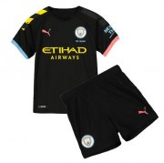 Children Manchester City Away Soccer Suits 2019/20 Shirt and Shorts