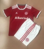 Children SC Internacional Home Soccer Suits 2020 Shirt and Shorts