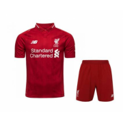 Kids 18-19 Liverpool Home Jersey Kits