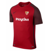 18-19 Sevilla Away Soccer Jersey Shirt Red