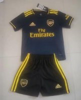 Children Arsenal Third Away Soccer Suits 2019/20 Shirt and Shorts