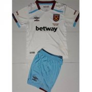 Kids West Ham United Away Soccer Kits 16/17 (Shirt+Shorts)