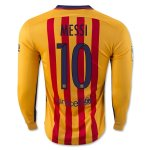 Barcelona LS Away Soccer Jersey 2015-16 MESSI #10