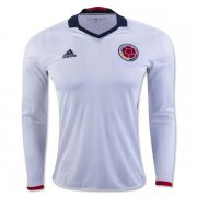 Colombia LS Home Soccer Jersey 2016