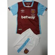 Kids West Ham United Home Soccer Kits 16/17 (Shirt+Shorts)