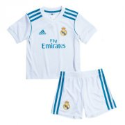 Real Madrid Home soccer suits 2017/18 shirt and shorts Kids