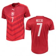 Czech Republic Home Soccer Jersey 2016 Necid 7
