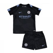 Kids Manchester City Third Soccer Kits 2017/18 Shirt and Shorts