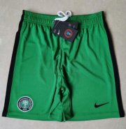 Nigeria Home Green Soccer Shorts 2020