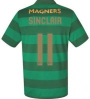 Celtic Away Soccer Jersey 2017/18 Sinclair #11
