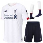 19-20 Liverpool Away Soccer Jersey Full Kits
