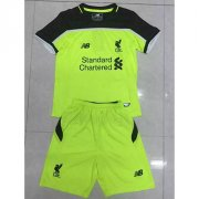 Kids Liverpool Third Soccer Kit 16/17 (Shirt+Shorts)