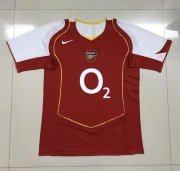 Retro Arsenal Home Soccer Jerseys 2004/05