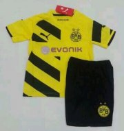 Kids Borussia Dortmund 14/15 Home Soccer Kit(Shorts+Shirt)