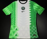 Nigeria Home Authentic Soccer Jerseys 2020