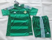 Kids Real Betis Away Soccer Kits 2015-16(Shirt+Shorts)