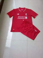 Kids Liverpool Home Soccer Kit 2015-16(Shirt+Shorts)