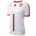 Serbia Home Soccer Jersey Shirt White 2018 World Cup