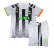 Children Juventus Palace Home Soccer Suits 2019/20 Shirt and Shorts