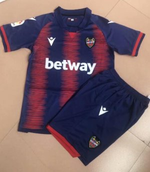 Children Levante Home Soccer Suits 2019/20 Shirt and Shorts