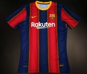Barcelona Home Authentic Soccer Jerseys 2020/21