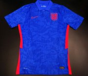 England Away Authentic Soccer Jersey Blue 2020