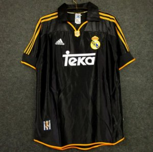 Retro Real Madrid Away Soccer Jerseys 1999/2000