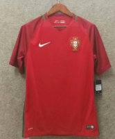 Retro Portugal Home Red Soccer Jerseys 2016