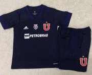 Children Universidad de Chile Home Soccer Suits 2020/21 Shirt and Shorts