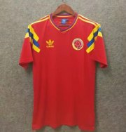 Retro Colombia Away Red Soccer Jerseys 1990
