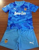 Children Valencia Third Away Soccer Suits 2019/20 Shirt and Shorts