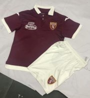 Children Torino Home Soccer Suits 2019/20 Shirt and Shorts