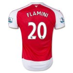 Arsenal Home Soccer Jersey 2015-16 FLAMINI #20