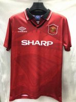 Retro Manchester United Home Soccer Jerseys 1994/96