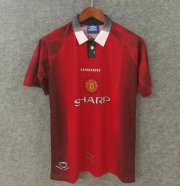 Retro Manchester United Home Soccer Jerseys 1996/97