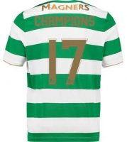 Celtic Home Soccer Jersey 2017/18 Champions #17