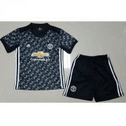 Manchester United Away Soccer Kits 2017/18 shirt and shorts Kids