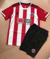Children Sheffield United Home Soccer Suits 2019/20 Shirt and Shorts