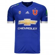 Universidad de Chile Home Soccer Jersey 17/18 Blue