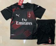 Children AC Milan Third Away Soccer Suits 2019/20 Shirt and Shorts