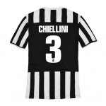13-14 Juventus #3 Chiellini Home Jersey Shirt