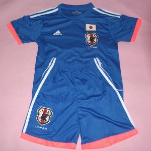 Kids 2014 World Cup Japan Home Whole Kit(Shirt+Shorts)