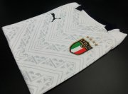 Italy Away Authentic White Soccer Jerseys 2020 EURO