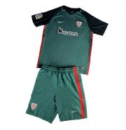 Kids Athletic Bilbao Away Soccer Kit 16/17 (Shirt+Shorts)
