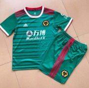 Children Wolves Third Away Soccer Suits 2019/20 Shirt and Shorts