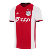 Ajax Home Red&White Soccer Jerseys Shirt 19-20