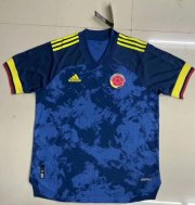 Colombia Away Authentic Soccer Jerseys 2020