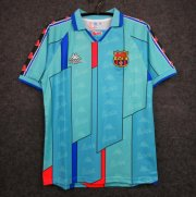 Retro Barcelona Away Blue Soccer Jerseys 1996/97