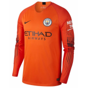 18-19 Manchester City Goalkeeper Long Sleeve Soccer Jersey Shirt