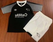 Children Derby County Away Soccer Suits 2019/20 Shirt and Shorts
